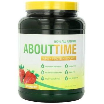 About Time Whey Protein Isolate Peaches and Cream - 2 lbs