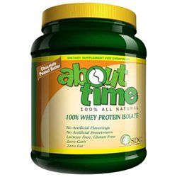 About Time Whey Protein Isolate Chocolate Peanut Butter - 2 lbs