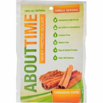 About Time Whey Protein Isolate - Cinnamon - 2 lb