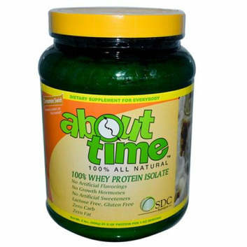 About Time Whey Protein Isolate Cinnamon Swirl 2 lbs