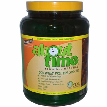 About Time Whey Protein Isolate Chocolate 2 lbs