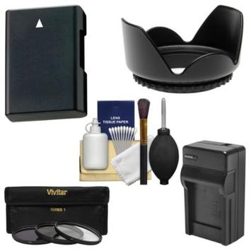 Vivitar Essentials Bundle for Nikon D5200, D5300 DSLR Camera & 18-140mm VR Lens with EN-EL14 Battery & Charger + 3 UV/CPL/ND8 Filters + Accessory Kit
