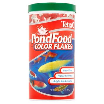 Mojetto Tetra Pond Pond Food Color Enhancing Diet: 6 oz