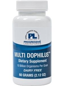 Multi Dophilus 60g(F) by Progressive Labs
