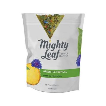Mighty Leaf Green Tea Tropical (50 Pyramid Pouches)