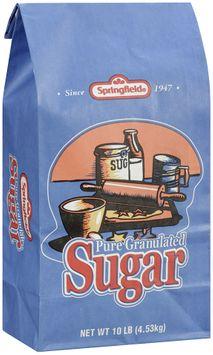 Springfield® Pure Granulated Sugar