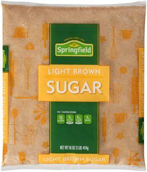 Springfield® Light Brown Sugar