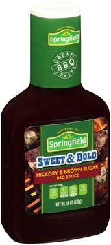 Springfield® Sweet & Bold Hickory & Brown Sugar BBQ Sauce