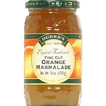Duerr English Preserves Marmalade Orange 16.0000 OZ (Pack of 6)