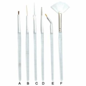 DL Professional 6 Piece Nail Art Set (DL-C98)