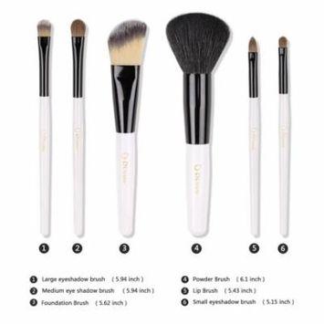 DUcare Makeup brushes Kit Set 6Pcs Brush W/ Case Cosmetic Tool