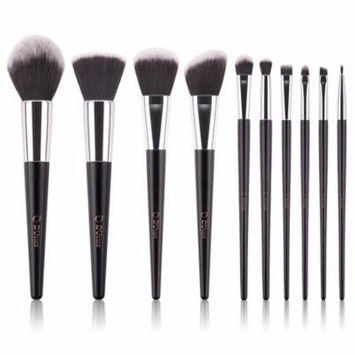DUcare 10pcs Makeup Brushes Kabuki Brush Set Synthetic Makeup Brush Foundation Eyeshadow Eyebrow Concealer Powder Brushes