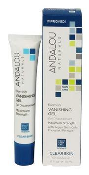 Andalou Naturals - Clear Skin Blemish Vanishing Gel - 0.6 oz.