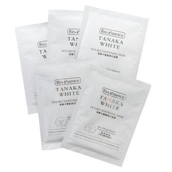 Bio Essence Bio-Essence - Tanaka White Double Whitening Mask 5 sheets