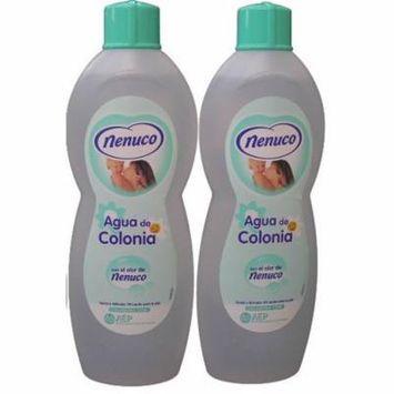 Nenuco Baby Cologne Agua De Colonia 20oz./600ml pack of 2