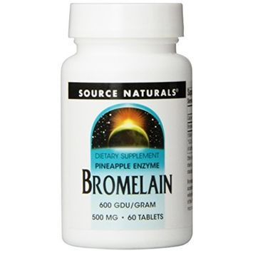 Source Naturals Bromelain, 500mg, 60 Tablets