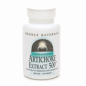 Source Naturals Artichoke Extract 500 mg Tablets