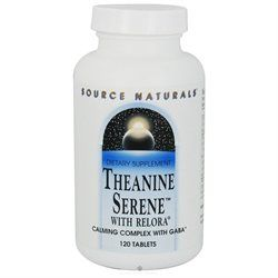 Source Naturals Theanine Serene with Relora - 120 Tablets