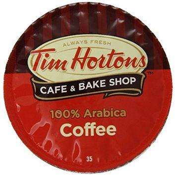 Tim Horton's Single Serve Coffee Cups, Dark Roast, 24 Count [Dark Roast]