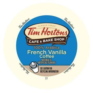 Tim Horton's Tim Hortons French Vanilla Cappuccino