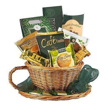 Cafe Comforts Coffee and Snacks Gift Basket Set [Coffee]