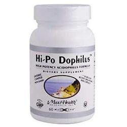 Maxi-Health Research Kosher Vitamins - Hi-Po Dophilus High Potency Acidophilus Formula - 60 Capsules