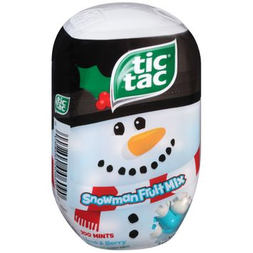 Tic Tac Snowman Fruit Mix mints
