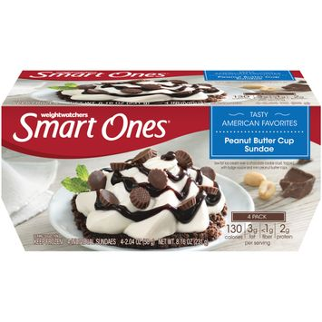 Smart Ones Peanut Butter Sundae Frozen Dessert