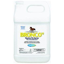 Farnam Company Bronco E Equine Fly Citronella Spray - 128 oz.