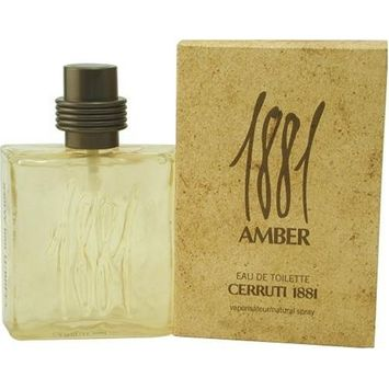 Cerruti 1881 Amber By Nino Cerruti For Men. Eau De Toilette Spray 1.7 Ounces