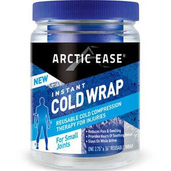Arctic Ease Reusable Wraps Cold Therapy Sport Wrap Small Joint Blue, 1 Count by Arctic Ease