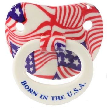 Billy Bob Teeth 90064 American Pride Pacifier