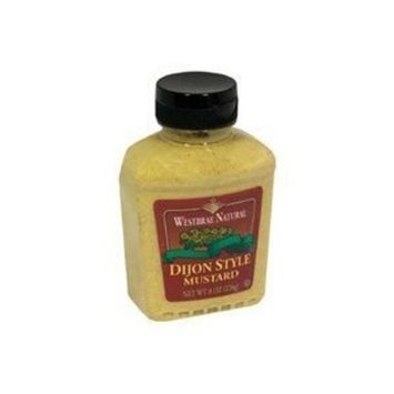 Westbrae Natural Dijon Style Mustard -- 8 oz (Pack of 8)