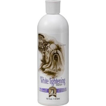 #1 All Systems Pure White Lightening Pet Shampoo, 16-Ounce