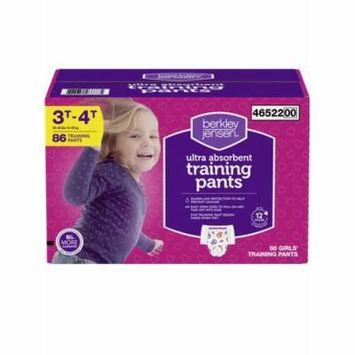 Berkley Jensen Training Pants for Girls, Size 3T-4T, 86 ct. (diapers - Wholesale Price