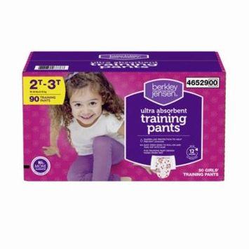 Berkley Jensen Training Pants for Girls, Size 2T-3T, 90 ct. (diapers - Wholesale Price