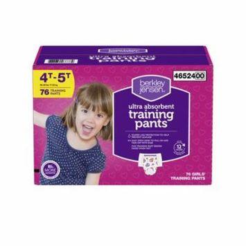 Berkley Jensen - Berkley Jensen Training Pants for Girls, Size 4T-5T, 76 ct. - (diaper - best for winter all season)