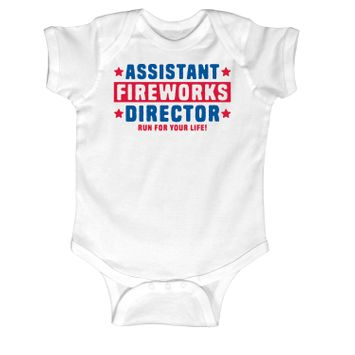 Lc Trendz Assistant Fireworks Director - Infant One Piece
