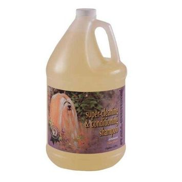 #1 All Systems Super Cleaning and Conditioning Pet Shampoo, 1-Gallon : Pet Shampoos Plus Conditioners : Pet Supplies