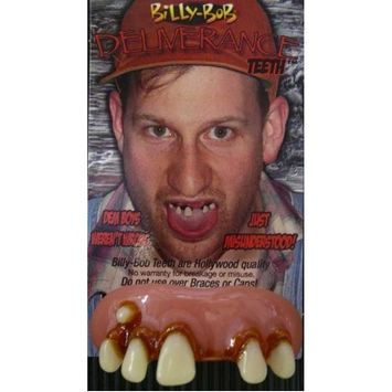Billy Bob Teeth Inc. Mens Deliverance with Cavity One Size Fits Most Off-White