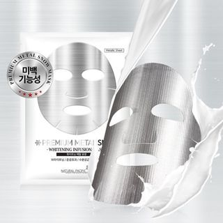 NATURAL PACIFIC - Premium Metal Snow Mask 1pc 25g