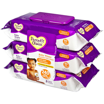 Parent's Choice Fresh Scent Flip-Top Baby Wipes