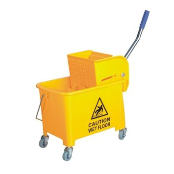 Small Mop Bucket with Wringer 5.2 Gallon AF08068