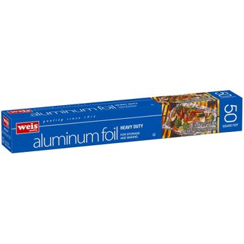 Weis Heavy Duty Aluminum Foil 50 sq. ft. Box