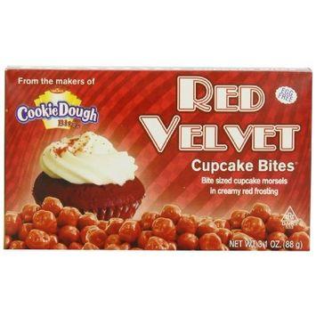 Taste of Nature Inc. Red Velvet Cupcake Bites, 3.1-Ounce (Pack of 30)