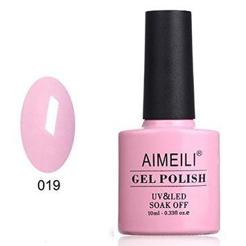 AIMEILI Soak Off UV LED Gel Nail Polish - Cake Pop (019) 10ml