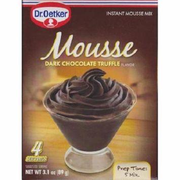 Dr. Oetker Organics Mousse Supreme Dark Chocolate Truffle Case of 12 3.1 oz.