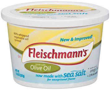 Fleischmann's Olive Oil 60% Whipped Vegetable Oil Spread