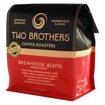 TWO BROTHERS® Coffee Roasters Brewhouse Blend Medium Roast