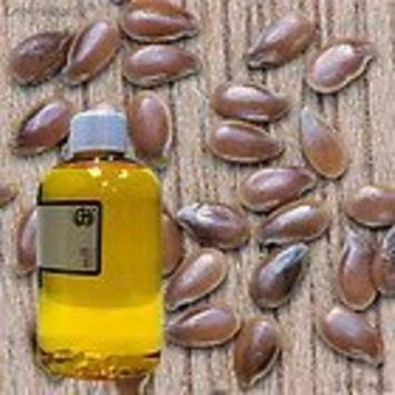 Flaxseed Oil 100% Pure Organic Cold Pressed - 8oz